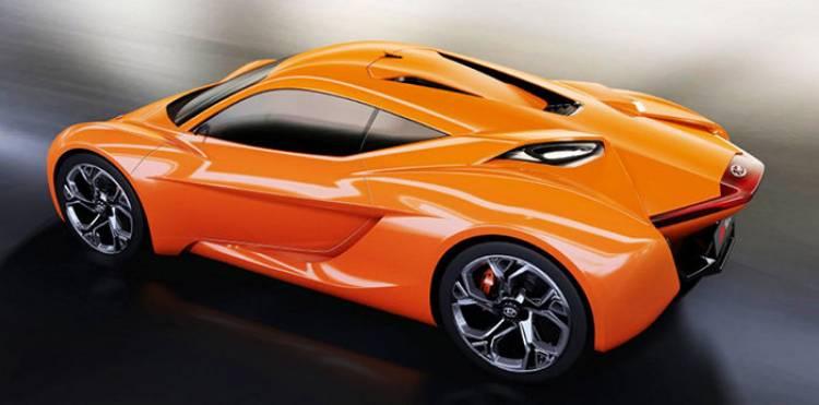 ¿Un rival para el Alfa romeo 4C en Hyundai? en el IED sí piensan en ello