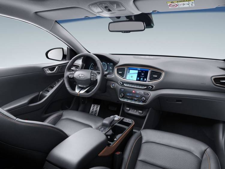 Interior Hyundai Ioniq