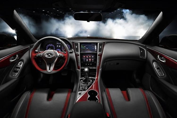 Infiniti Q50 Eau Rouge: una berlina deportiva dispuesta a llegar a producción con más de 500 cv