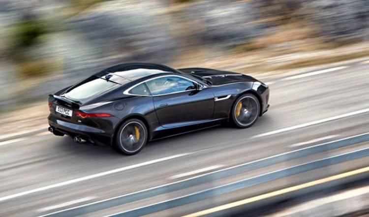Jaguar F-Type Coupé, totalmente al descubierto