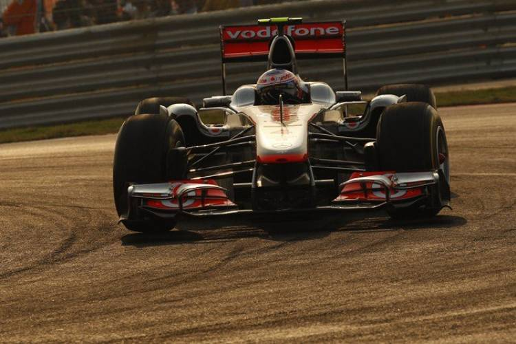 Jenson Button (McLaren) - GP India 2011