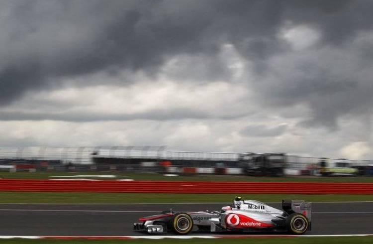 Jenson Button (McLaren) - GP de Gran Bretaña 2011