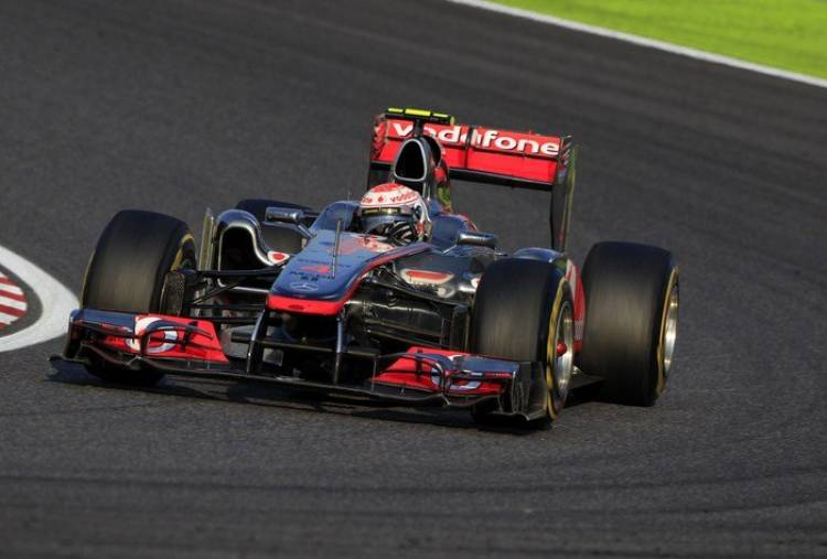 Jenson Button (McLaren) - GP Japón 2011
