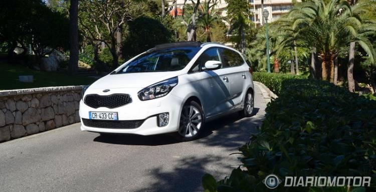 Kia Carens: presentación y prueba en Mónaco