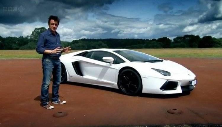 Top Gear prueba el Lamborghini Aventador