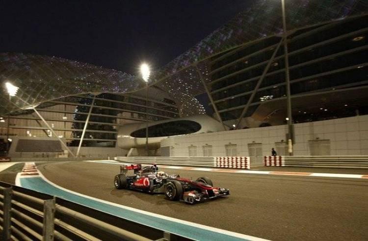 Lewis Hamilton (McLaren) - GP Abu Dhabi 2011