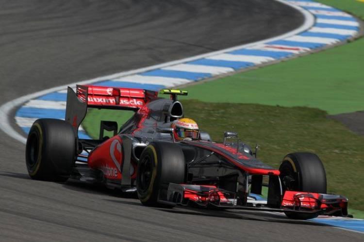 Calificación GP de Alemania 2012 - Hockenheim