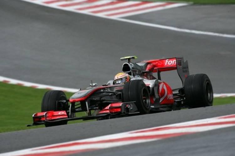 Lewis Hamilton (McLaren) - GP Bélgica 2010 - Tiempos y Parrilla Salida