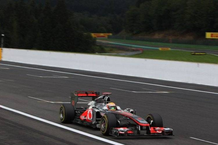 Lewis Hamilton (McLaren) - GP de Bélgica 2011