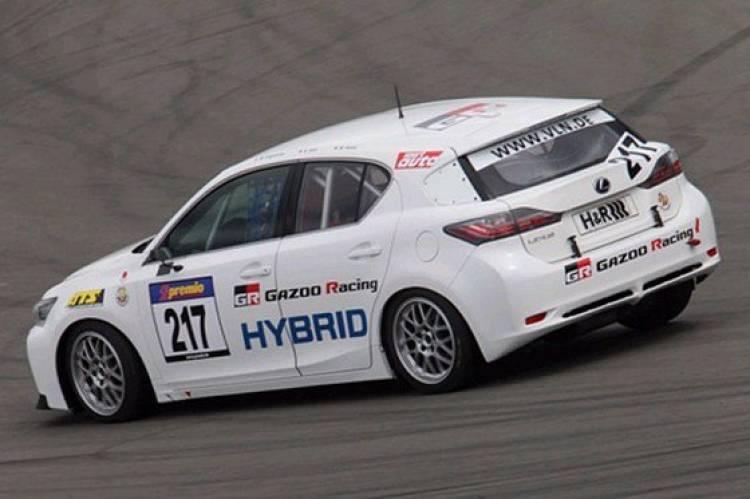 Lexus CT 200h Gazoo Racing en Nürburgring