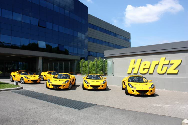 Alquiler del Lotus Elise SC en Hertz
