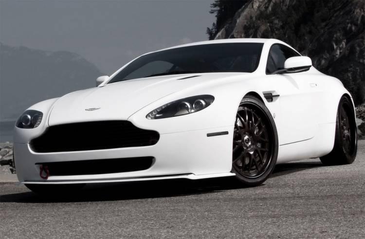 MW Design Technik Aston Martin V8 Vantage Helvellyn Frost