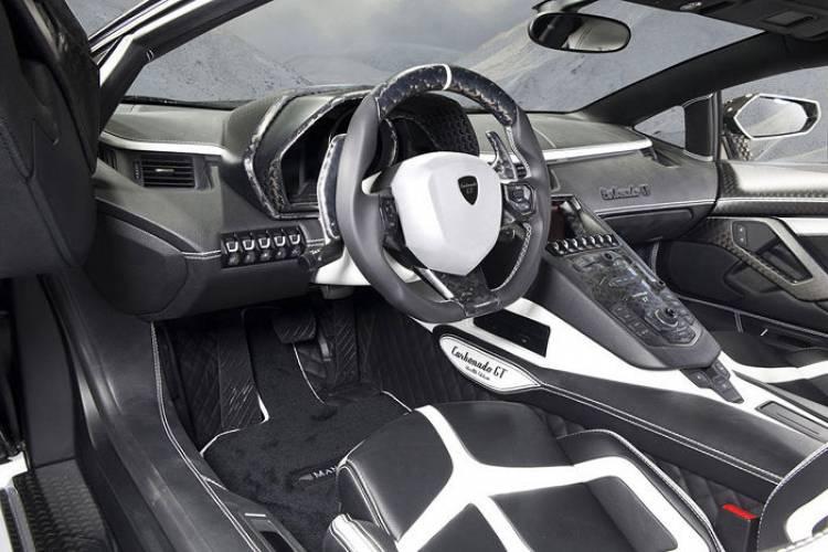 Mansory Carbonado GT: una nueva evolución del Aventador de Mansory, ahora con 1.600 cv