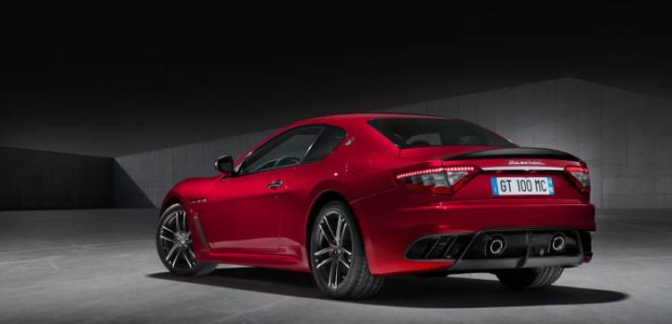 Maserati GranCabrio y GranTurismo Centennial Edition