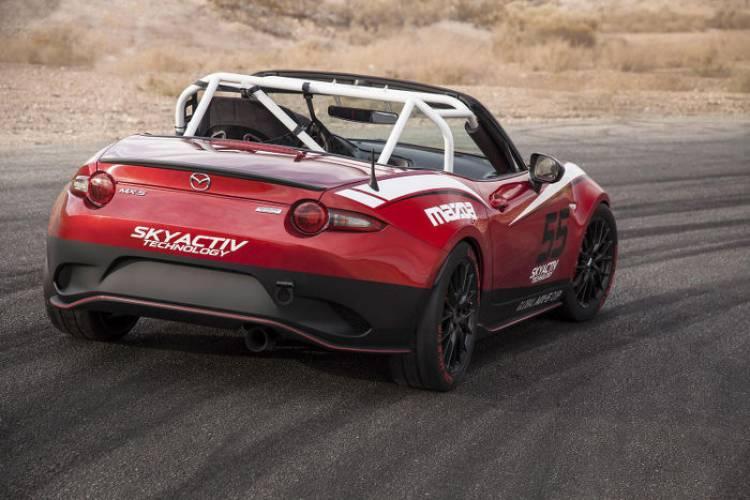 Mazda MX-5 2015, esta es su versión de competición