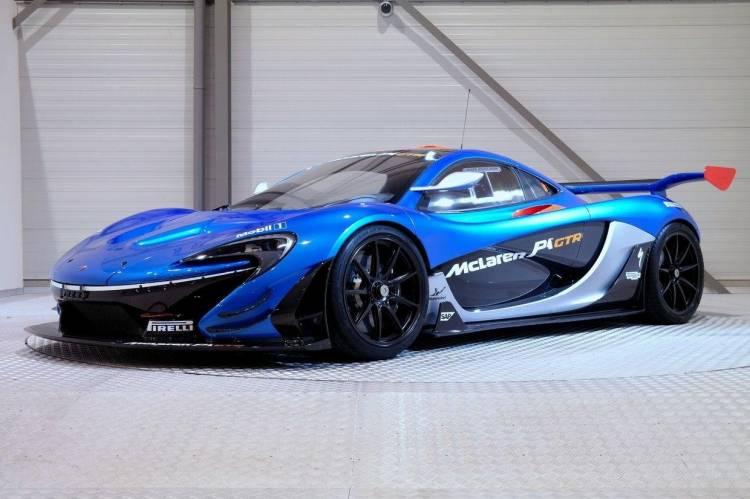 McLaren P1 GTR by Lanzante Motorsport_frontolateral