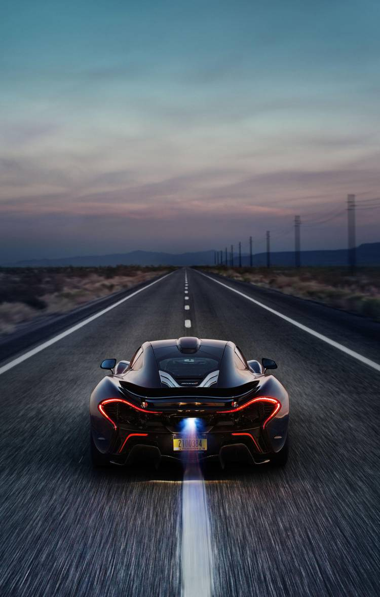 McLaren P1 development testing Death Valley