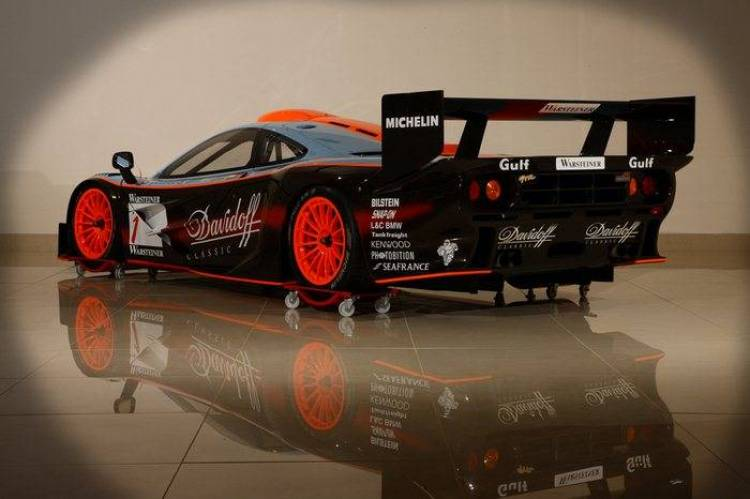 El último McLaren F1 GTR de 1997, a subasta