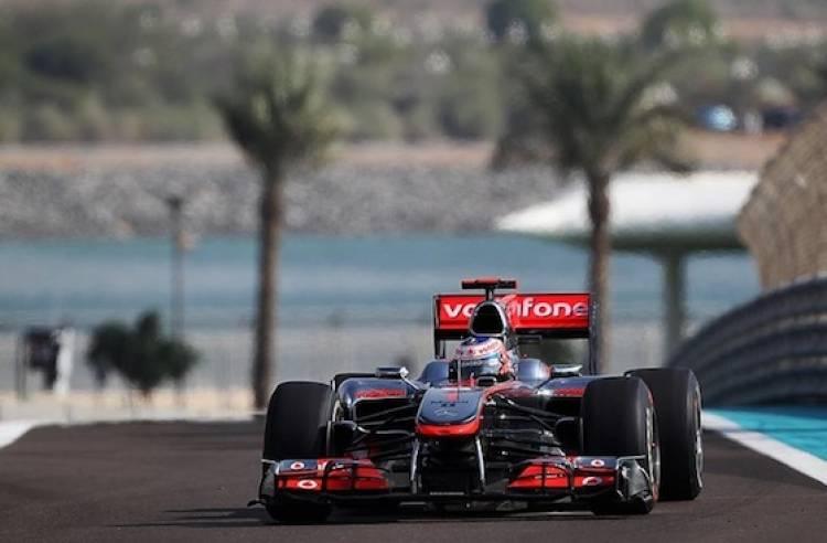 McLaren (GP Abu Dhabi 2010)