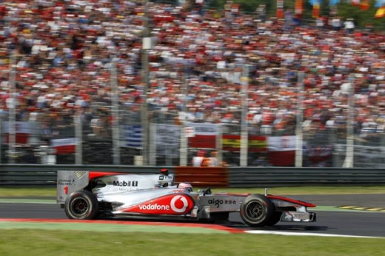 Jenson Button (McLaren) - GP Italia 2010