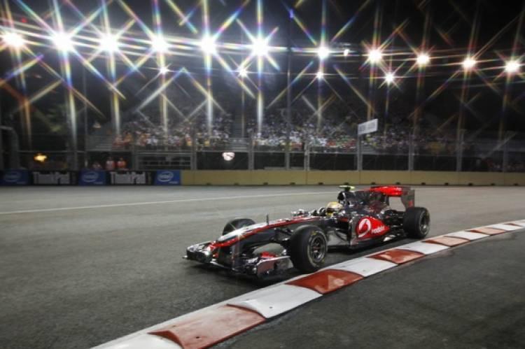 Lewis Hamilton (McLaren) - GP Singapur 2010