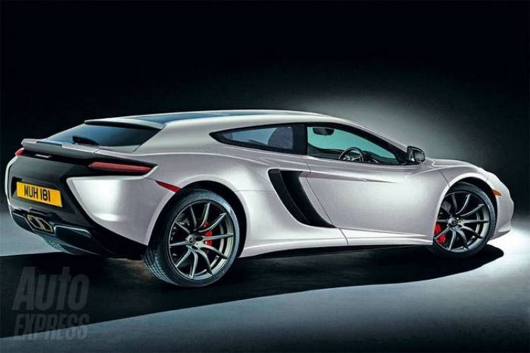 Recreación del McLaren MP4-12C Shooting Brake