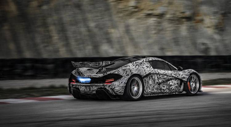 Nuevas imágenes oficiales del McLaren P1 en fase de desarrollo
