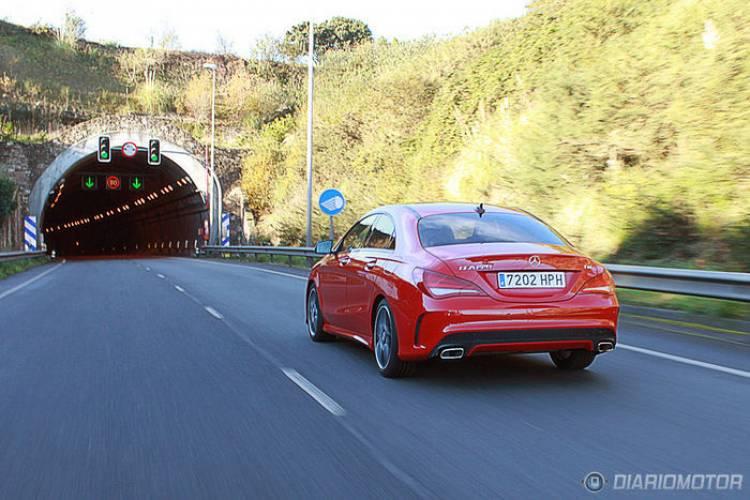Mercedes CLA 220 CDI a prueba (II): comportamiento brillante, motor