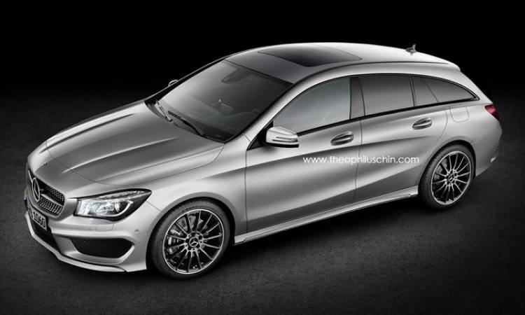 ¿Empezamos a imaginarnos al Mercedes CLA Shooting Brake?