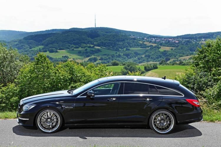 846 caballos para el Mercedes CLS 63 AMG Shooting Brake de la mano de VÄTH