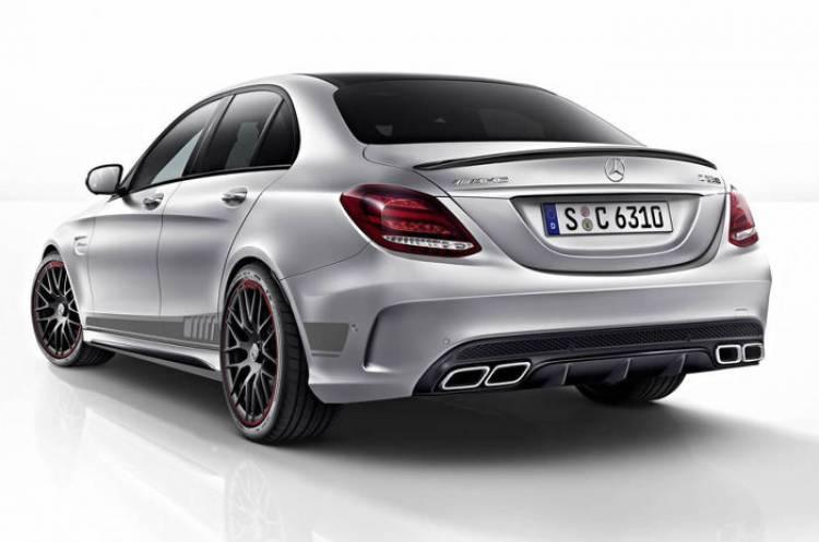 Mercedes-AMG C 63 Edition 1 2015: primeras imágenes