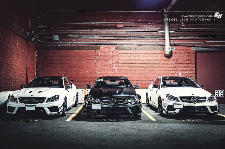 Mercedes C 63 AMG Coupé Black Series por Marcel Lech