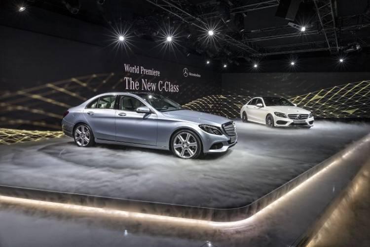 Mercedes Clase C: debuta en Detroit la piedra angular de Mercedes