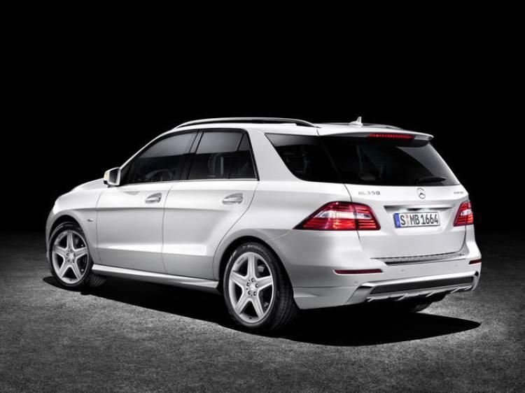 Mercedes MLC: ¿preparando una alternativa de diseño coupé para enfrentarse al BMW X6?