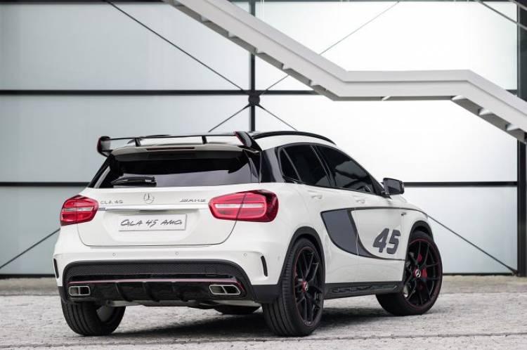 El Mercedes GLA 45 AMG de producción podría estar también en el Salón de Detroit