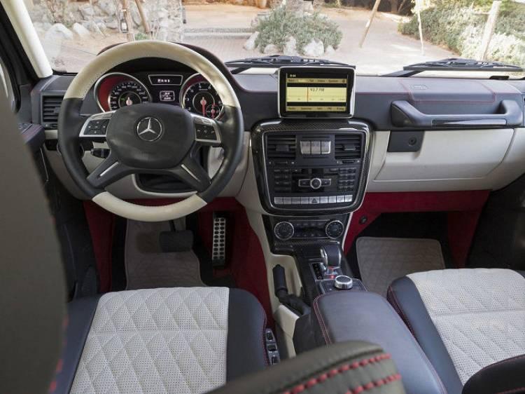 Mercedes G63 AMG 6X6: el Clase G de 6 ruedas llega a producción