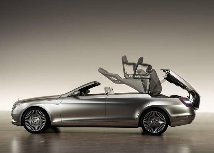 Prototipo clásico: Mercedes Ocean Drive, el Mercedes Clase S cabrio