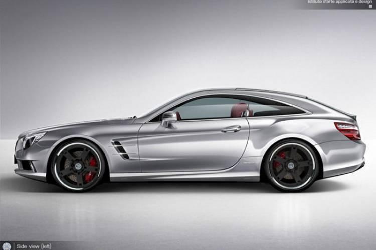 ¿Te imaginas un Mercedes SL Shooting Brake? StudioTorino sí