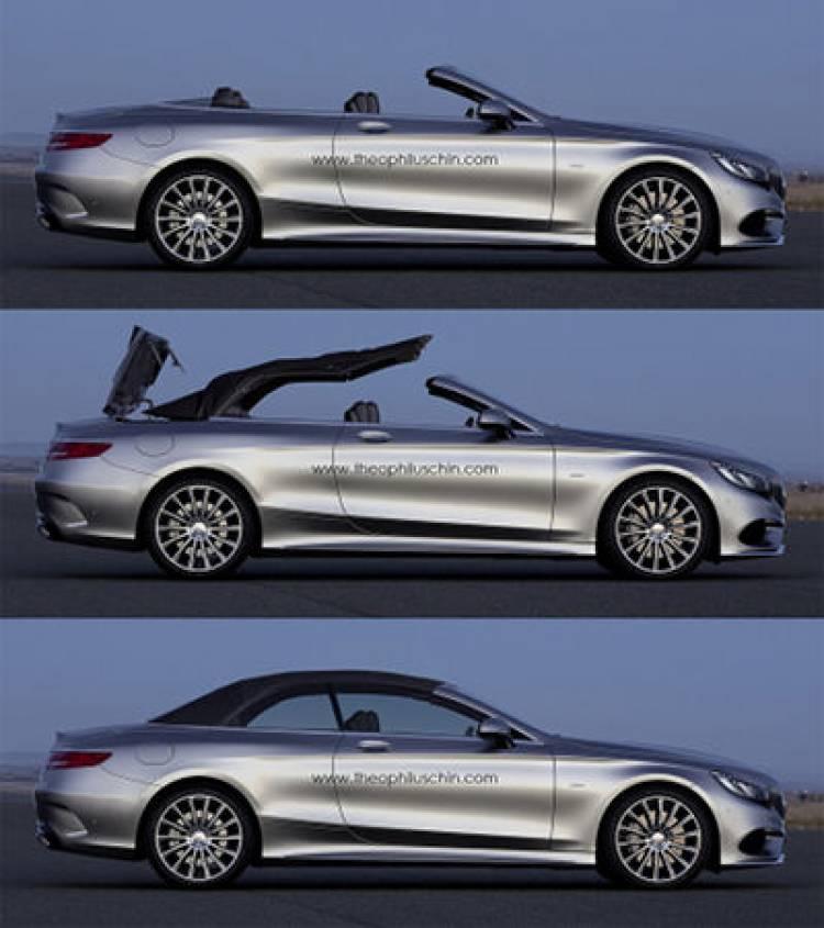 Recreaciones del Mercedes Clase S Cabrio