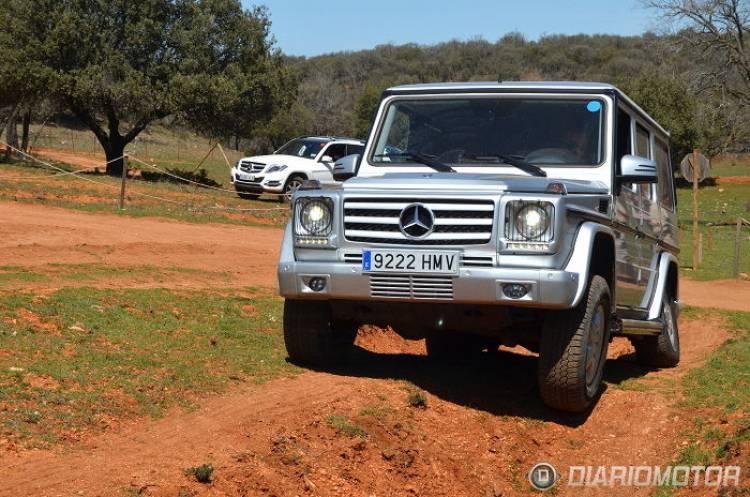 Tierra y estrellas plateadas con 6to6: jornada de offroad con la gama crossover de Mercedes