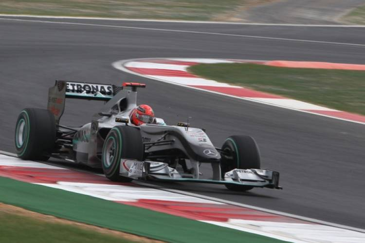 Michael Schumacher (Mercedes GP) - GP Corea 2010