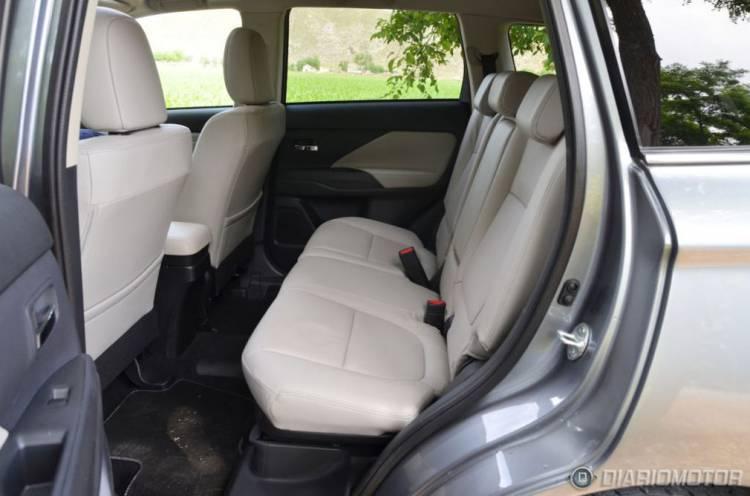 Mitsubishi Outlander PHEV, presentación y prueba