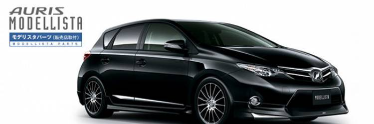 Toyota presenta los paquetes de Modellista y TRD para el nuevo Auris