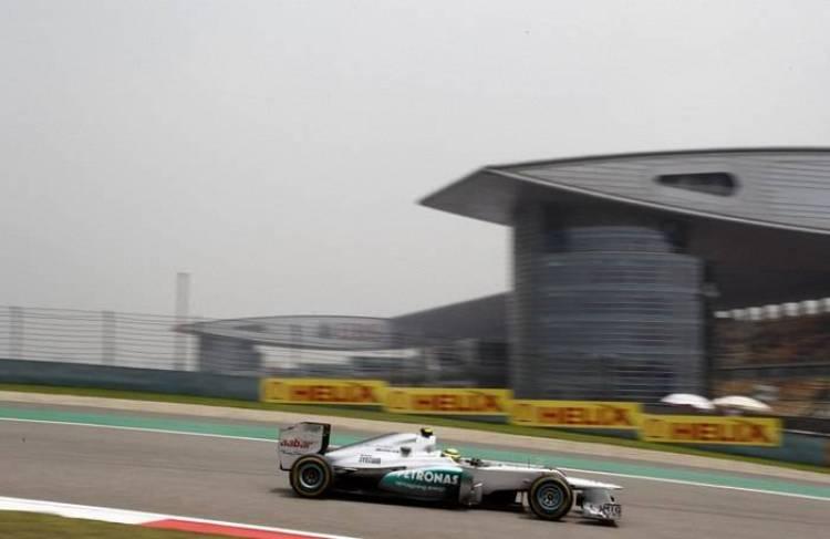 Calificación GP China 2012