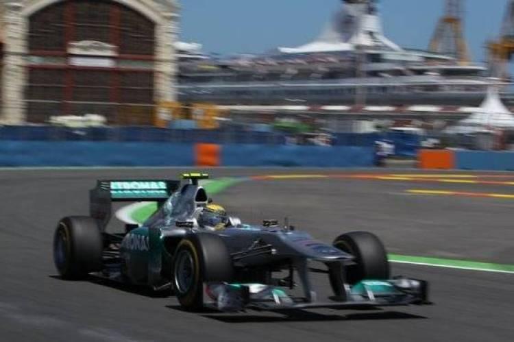 Nico Rosberg (Mercedes) - GP Europa 2011