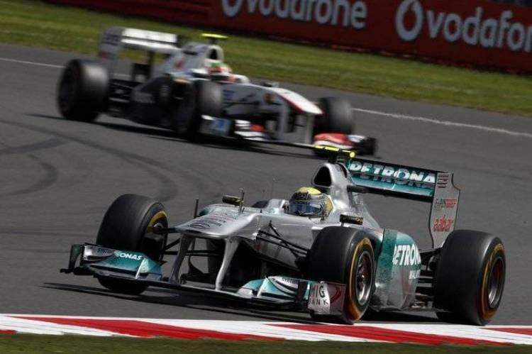 Nico Rosberg (Mercedes GP) - GP de Gran Bretaña 2011