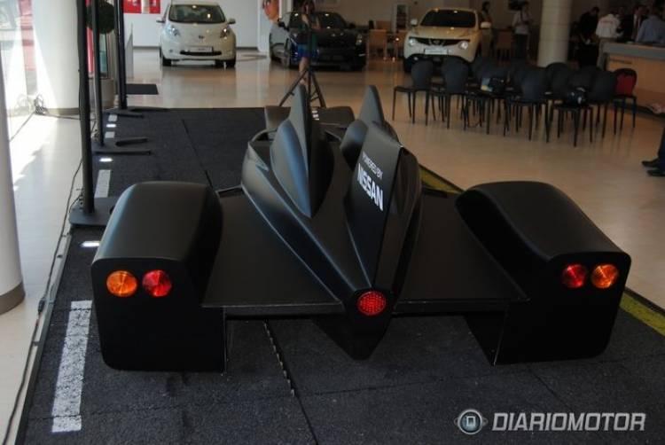 Presentación del Nissan DeltaWing en Madrid