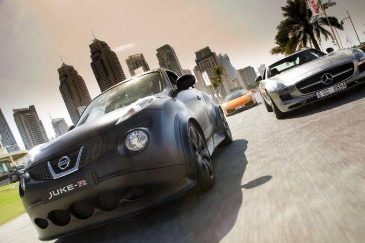 Nissan Juke-R en Dubai