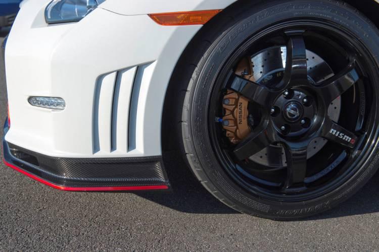 Imagen de las llantas del Nissan GT-R Nismo