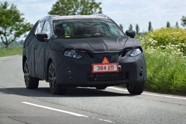 Nissan Qashqai: imágenes de la nueva generación... todavía camuflado